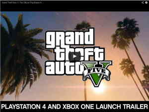 gta5 one PS4