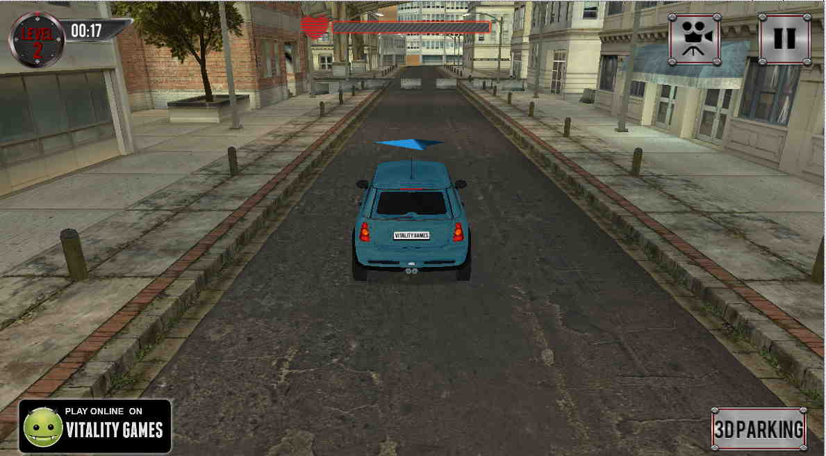 3D Parking City Rumble - Free Game