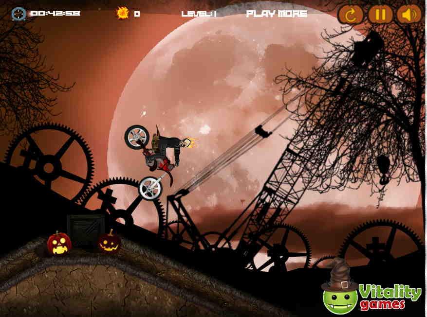 Halloween Skull Rider