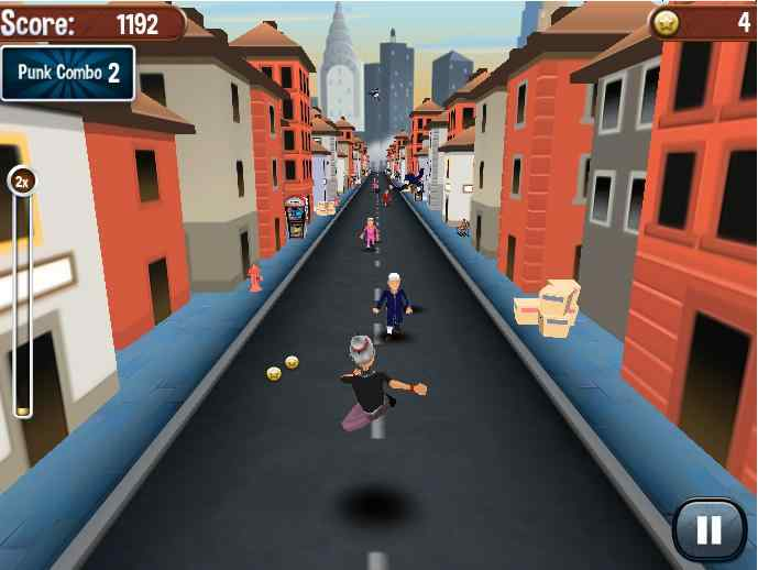 ngry Gran Run – unity 3d action games