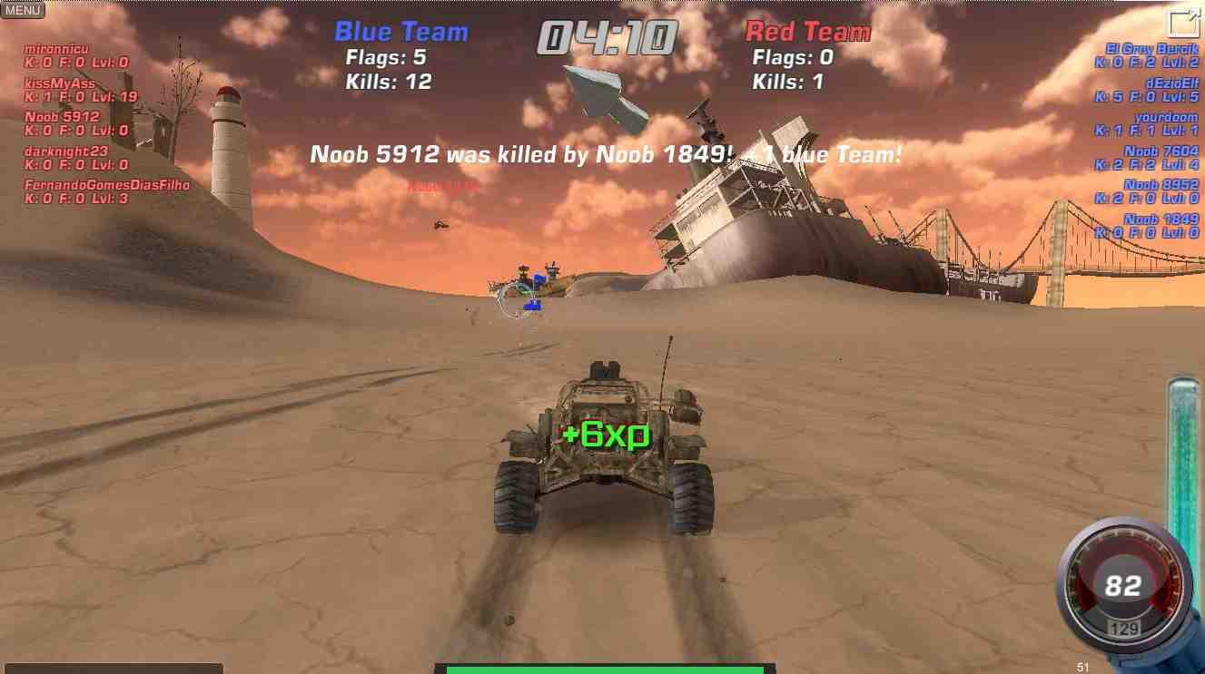 Motor Wars 3 Wasteland