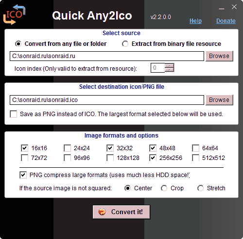 Quick Any2Ico 2.2.0.0