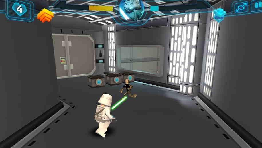 3D Star Wars Lego 4