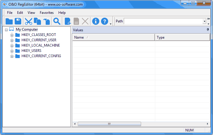 O&O RegEditor v12.0.2172