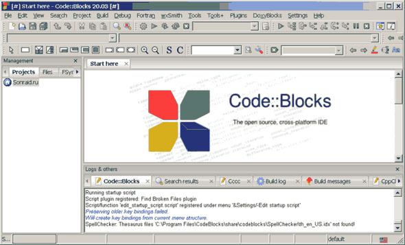 Code Blocks 20.03