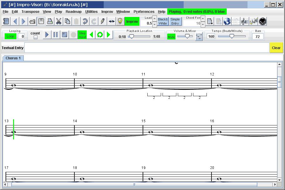 Impro-Visor v 10.2