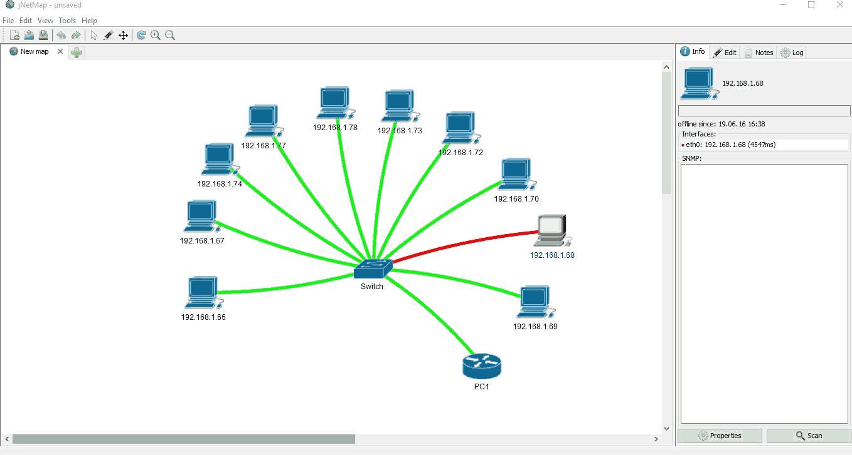 jnetmap