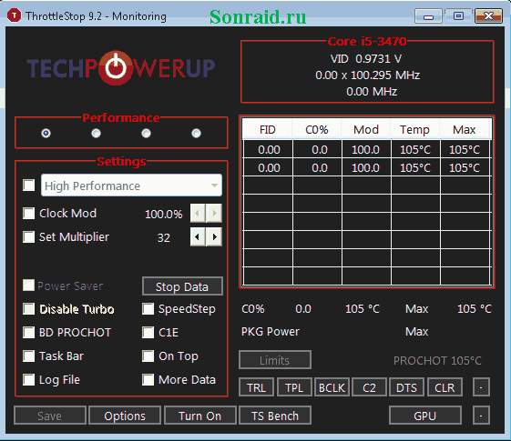 ThrottleStop 9.2