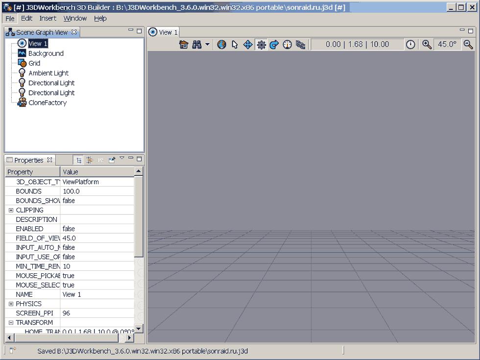 J3DWorkbench 3.6.0