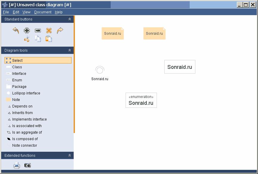 Violet UML Editor 3.0.0