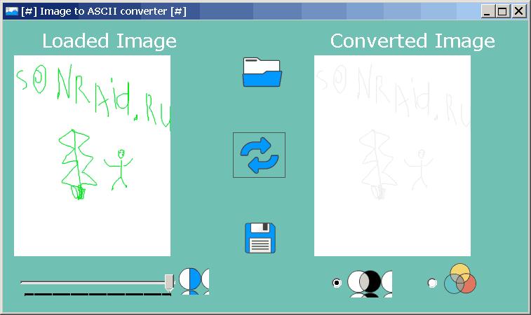Image to ASCII converter 0.1