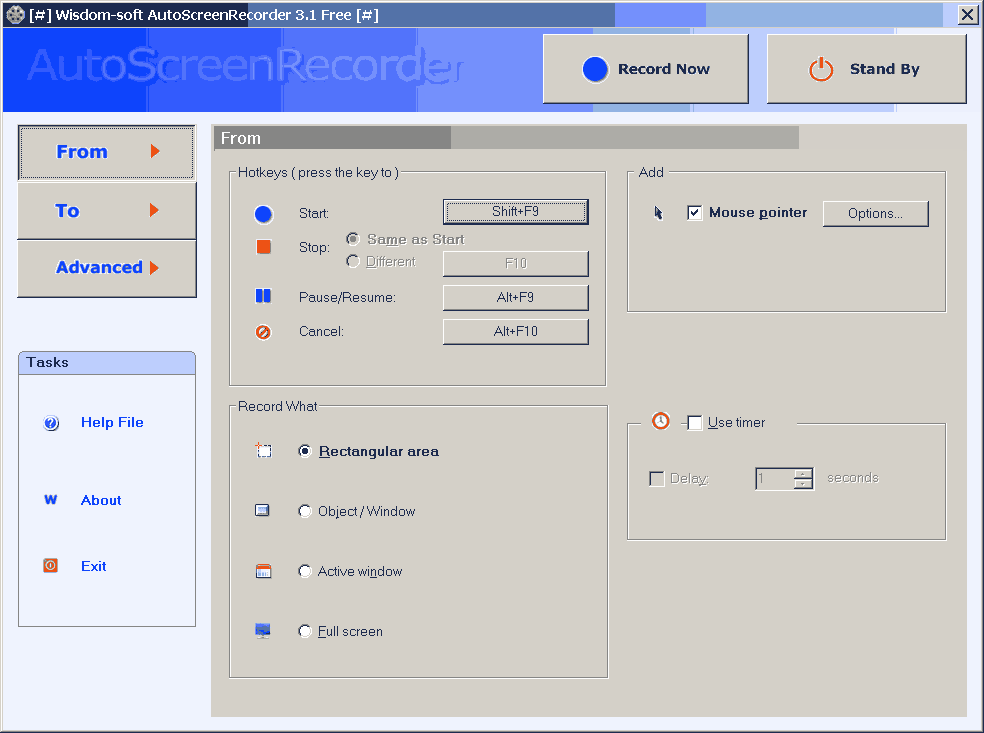AutoScreenRecorder 3.1.125 Free