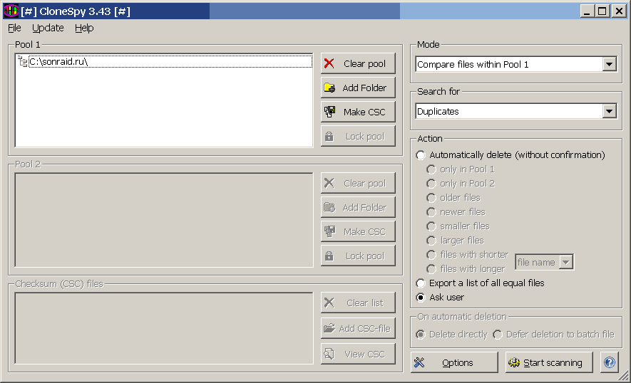 CloneSpy 3.43