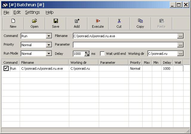 Batchrun 4.42