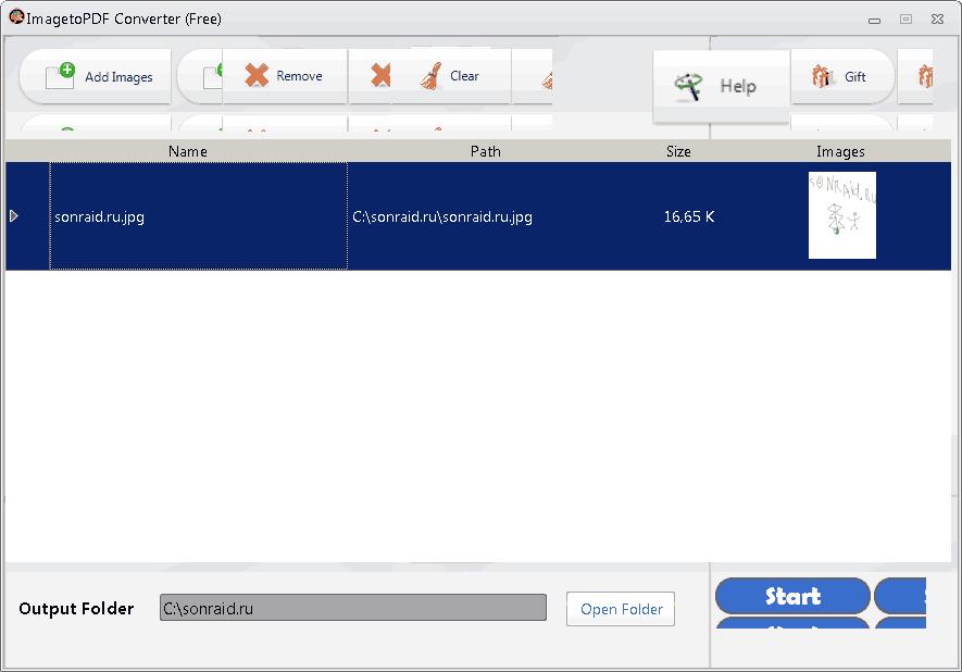 ImagetoPDF Converter 3.1.1