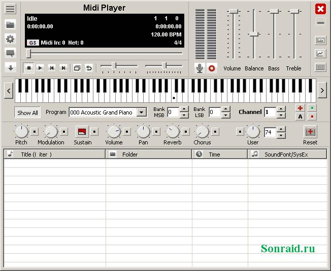 Midi Player 5.7