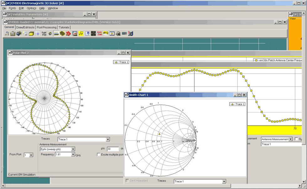 EM3DS Electromagnetic 3D solver