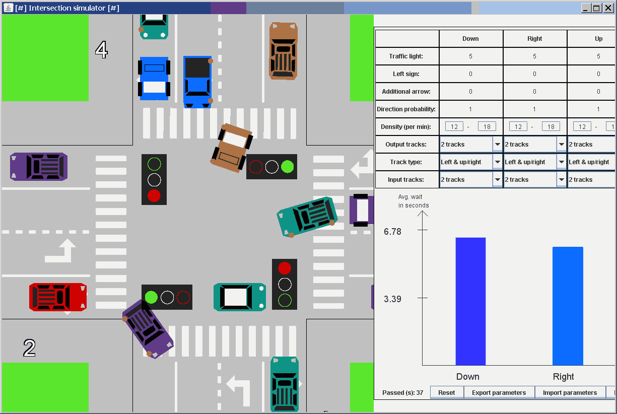 Intersection Simulator