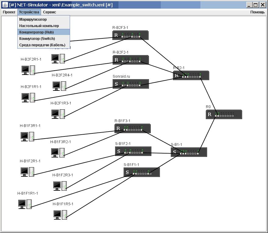 NET-Simulator