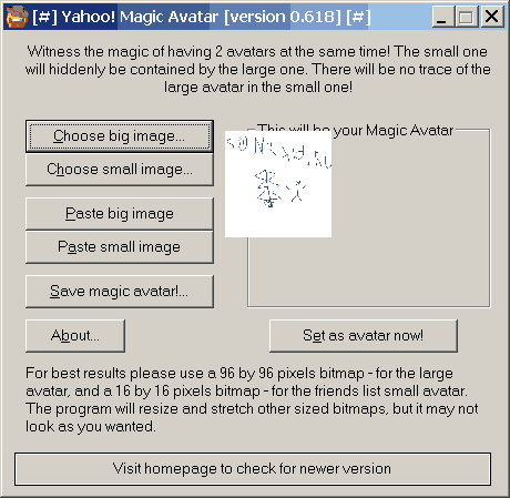 Yahoo Magic Avatar