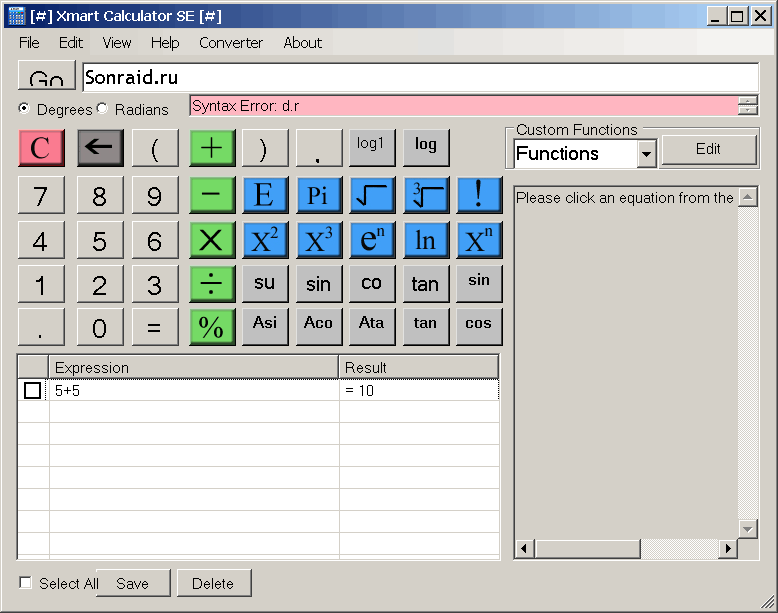 Xmart Calculator