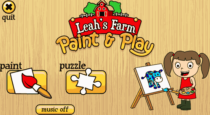 Leah's Farm Paint and Play