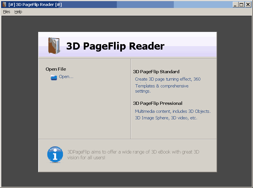3D PageFlip Reader