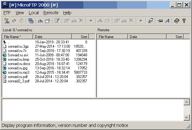 MicroFTP 2000