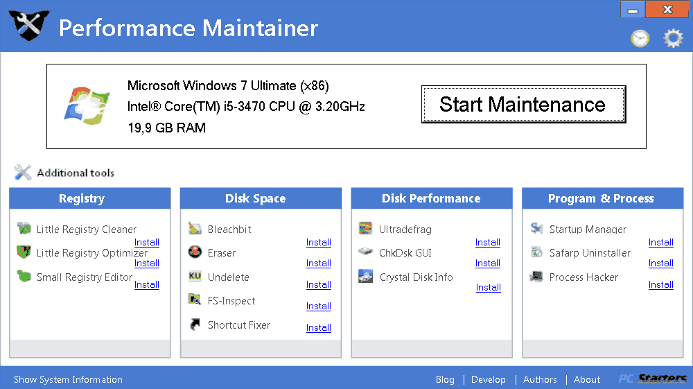 Performance Maintainer