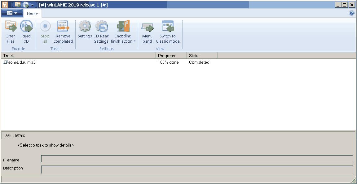 winLAME 2.19.1.68