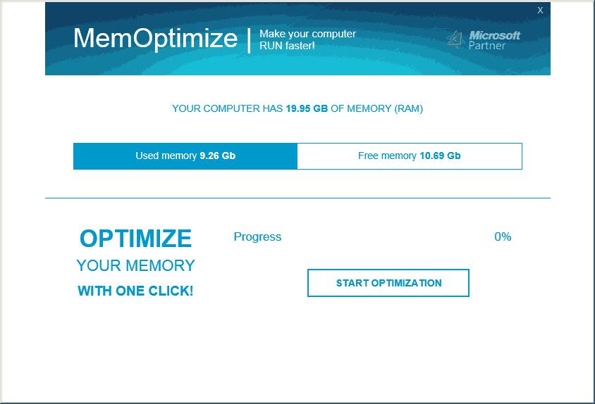 MemOptimize 1.0