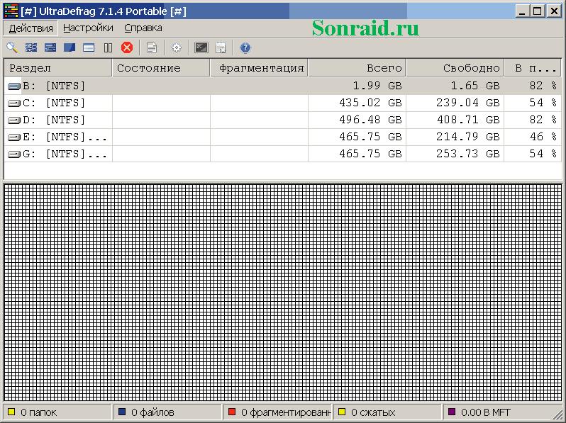 UltraDefrag 7.1.4 Final