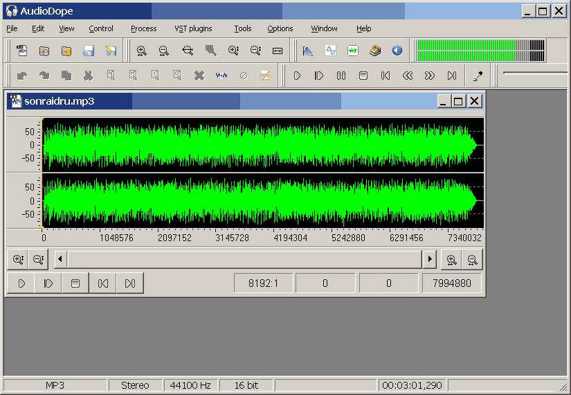 Audiodope 0.26 Beta