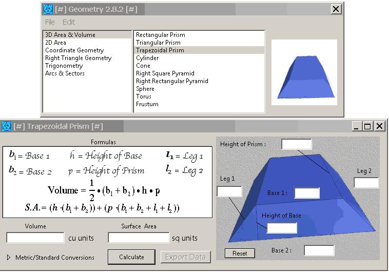Geometry 2.8.2