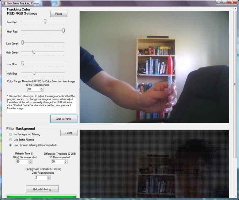 Webcam Signature