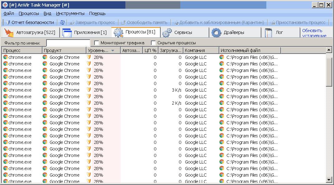 AnVir Task Manager 9.3.3 portable