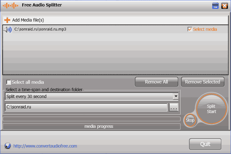Free Audio Splitter 2.0.0