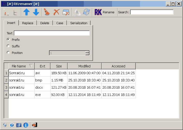 RKrenamer 0.3.0