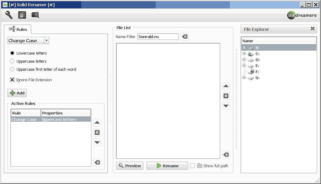 Solid Renamer 1.2.0.5