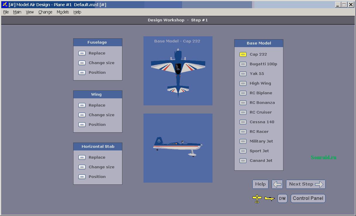 Model Air Design 1.8