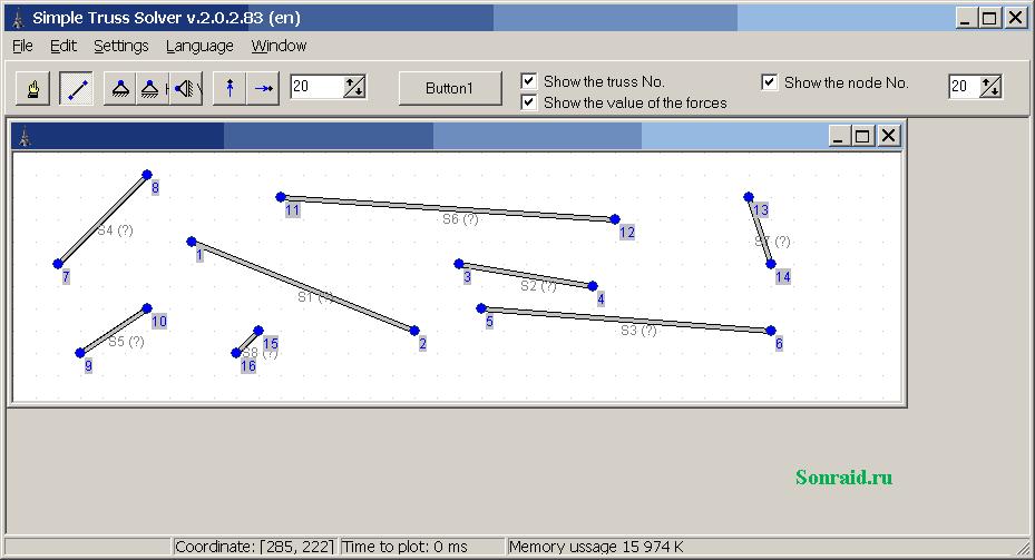 Simple Truss Solver 2.0.2.83