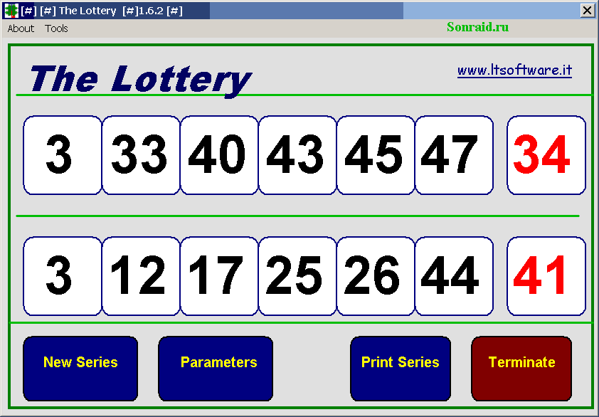 The Lottery 1.6.2