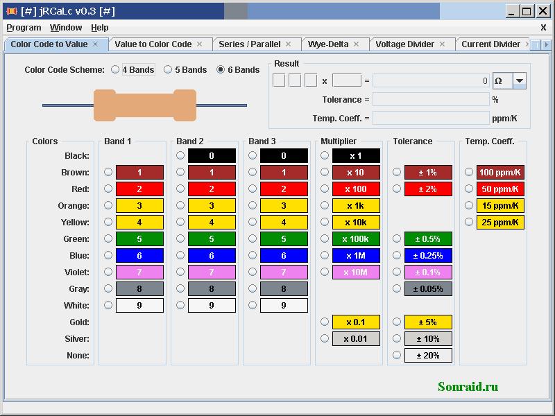 jRCaLc 0.3