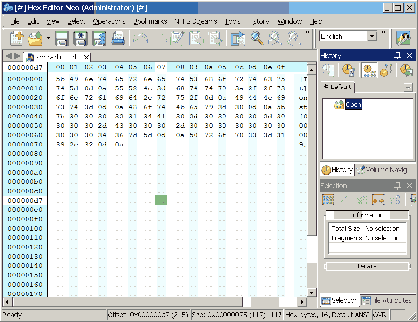 Free Hex Editor Neo 6.44.01.6234