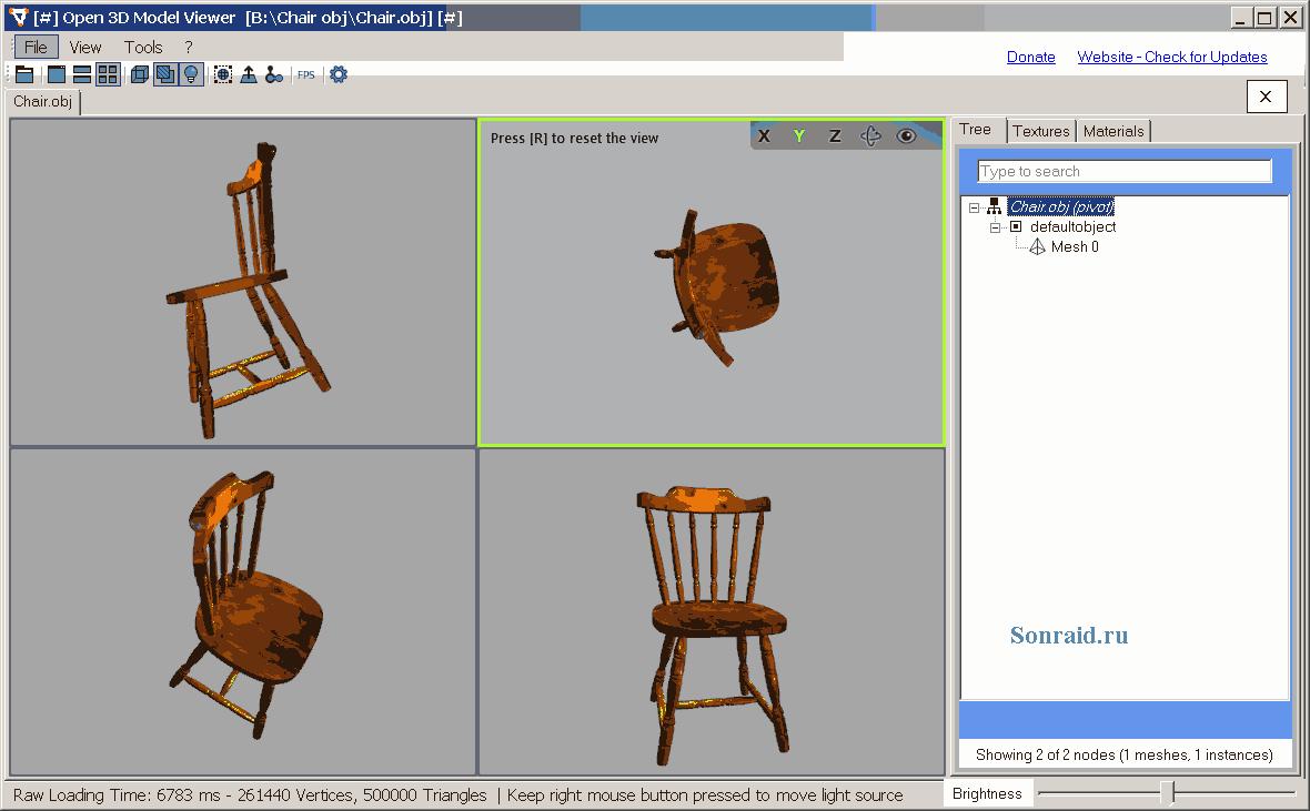 Open 3D Model Viewer