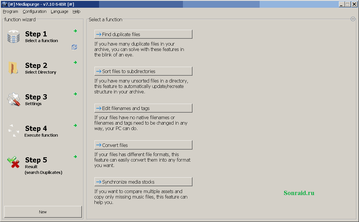 MediaPurge 7.10