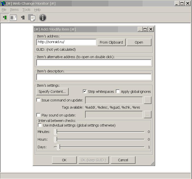 WebChangeMonitor