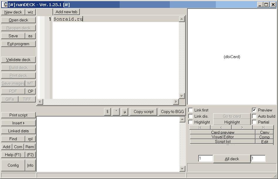 nanDECK 1.25.1