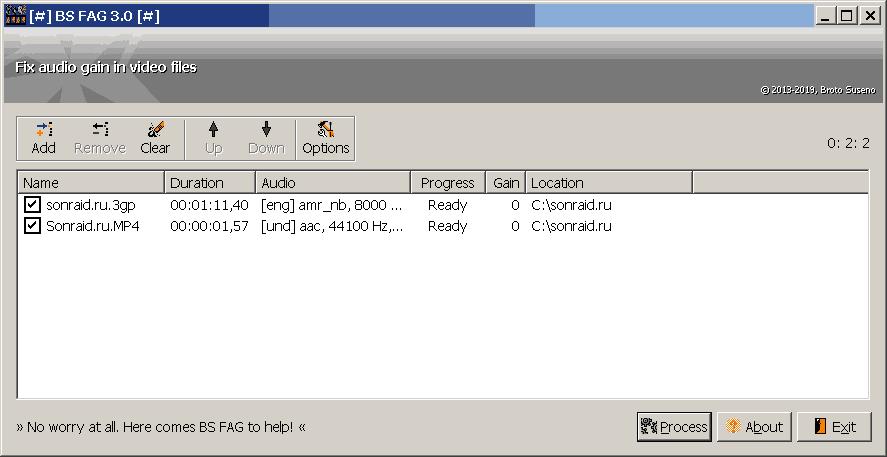 BS FAG 3.0
