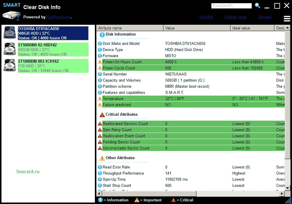 Clear Disk Info 1.9.0.0